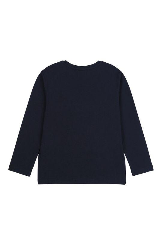 Boss - Дитячий лонгслів 164-176 cm темно-синій