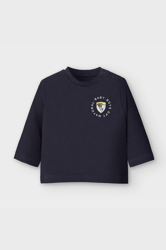 tmavomodrá Mayoral - Detské tričko s dlhým rukávom 68-98 cm Chlapčenský