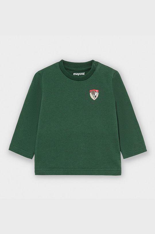 zelená Mayoral - Detské tričko s dlhým rukávom 68-98 cm Chlapčenský