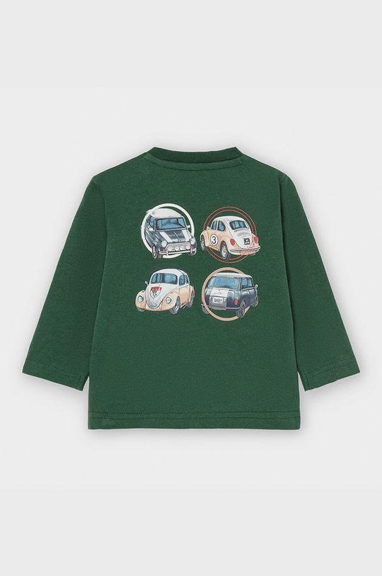 Mayoral - Detské tričko s dlhým rukávom 68-98 cm zelená