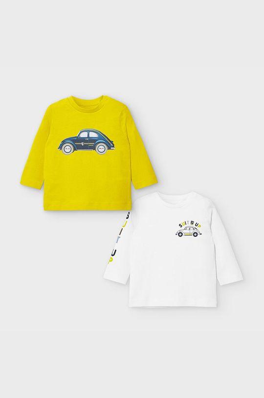 żółty Mayoral - Longsleeve dziecięcy 68-98 cm (2-pack) Chłopięcy