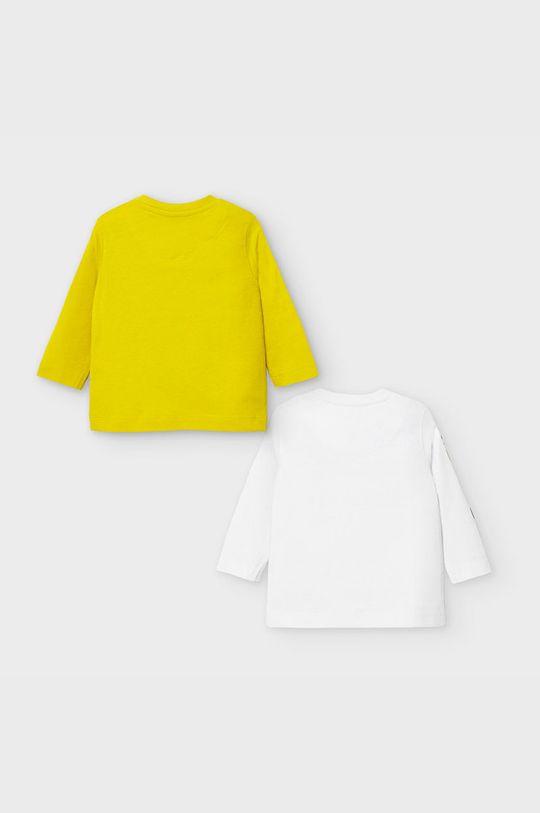 Mayoral - Longsleeve dziecięcy 68-98 cm (2-pack) żółty