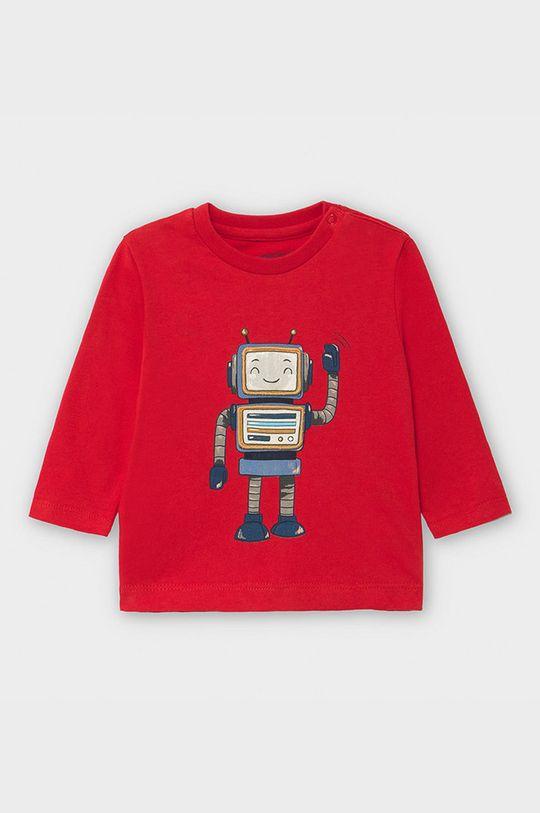 червоний Mayoral - Дитячий лонгслів 69-98 cm Для хлопчиків