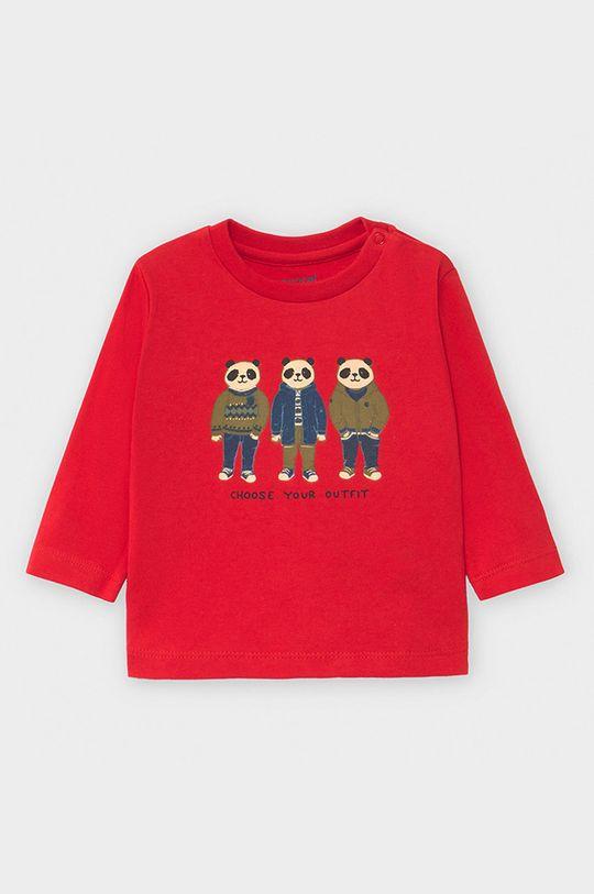 czerwony Mayoral - Longsleeve dziecięcy 68-98 cm Chłopięcy