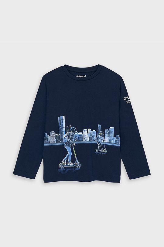 блакитний Mayoral - Дитячий лонгслів 92-134 cm Для хлопчиків