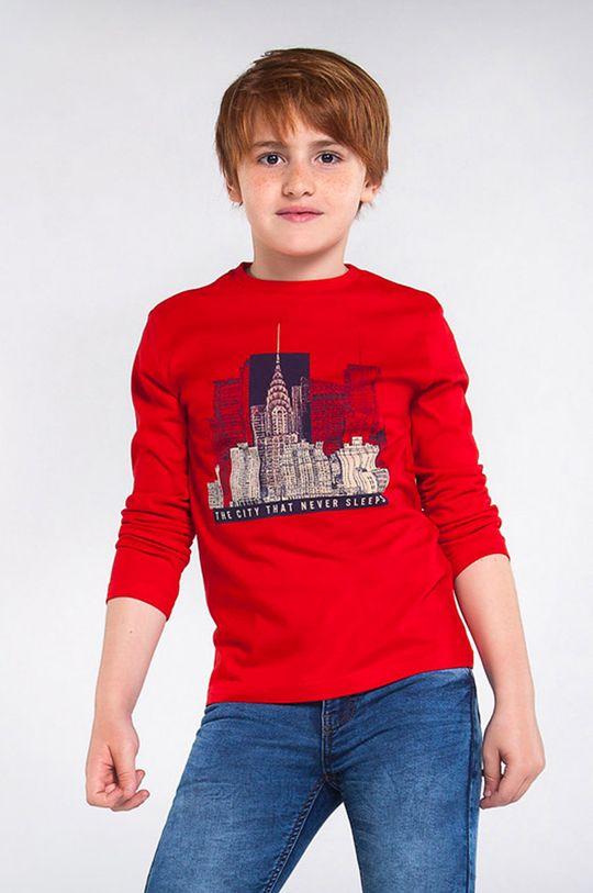 червоний Mayoral - Дитячий лонгслів 128-172 cm Для хлопчиків
