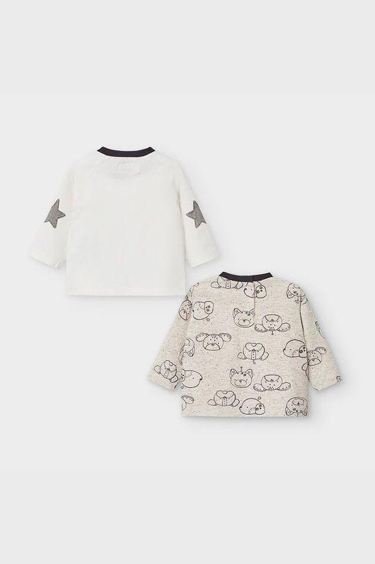 Mayoral Newborn - Detské tričko s dlhým rukávom 60-86 cm (2-pak) tmavomodrá