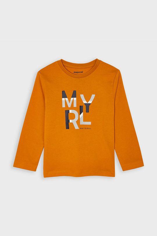 бурштиновий Mayoral - Дитячий лонгслів 92-134 cm Для хлопчиків