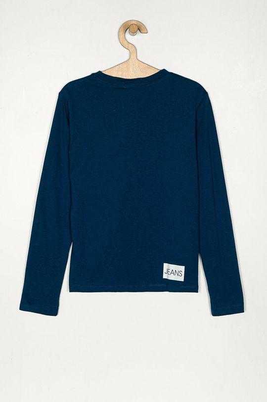 Calvin Klein Jeans - Longsleeve copii 128-176 cm bleumarin