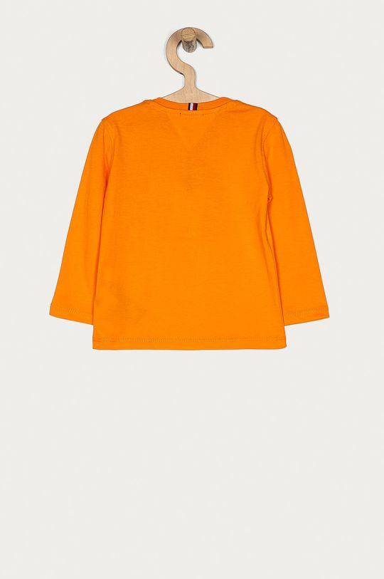 Tommy Hilfiger - Longsleeve dziecięcy 74-176 cm pomarańczowy