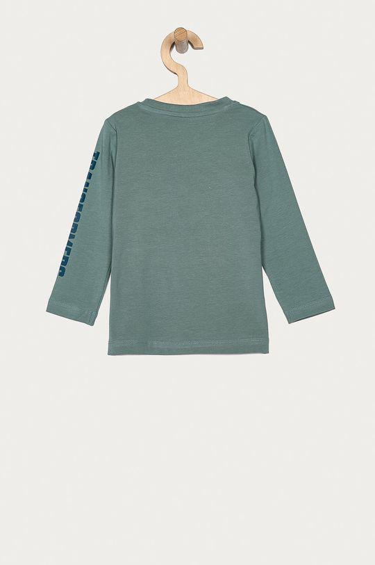 Name it - Detské tričko s dlhým rukávom 86-110 cm tyrkysová
