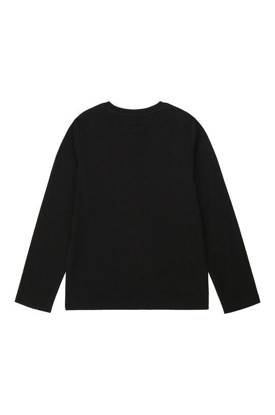 Dkny - Дитячий лонгслів 164-176 cm чорний