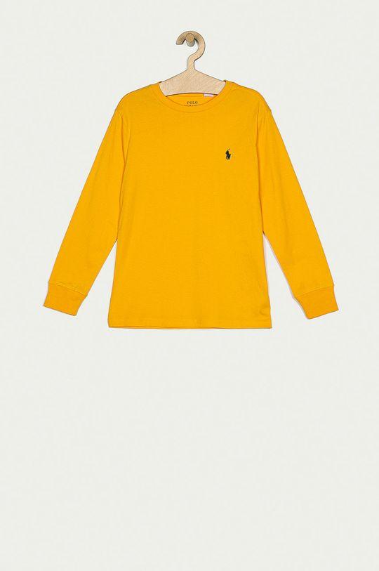 galben Polo Ralph Lauren - Longsleeve copii 134-176 cm De băieți