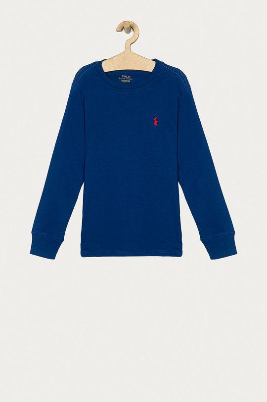 niebieski Polo Ralph Lauren - Longsleeve dziecięcy 134-176 cm Chłopięcy
