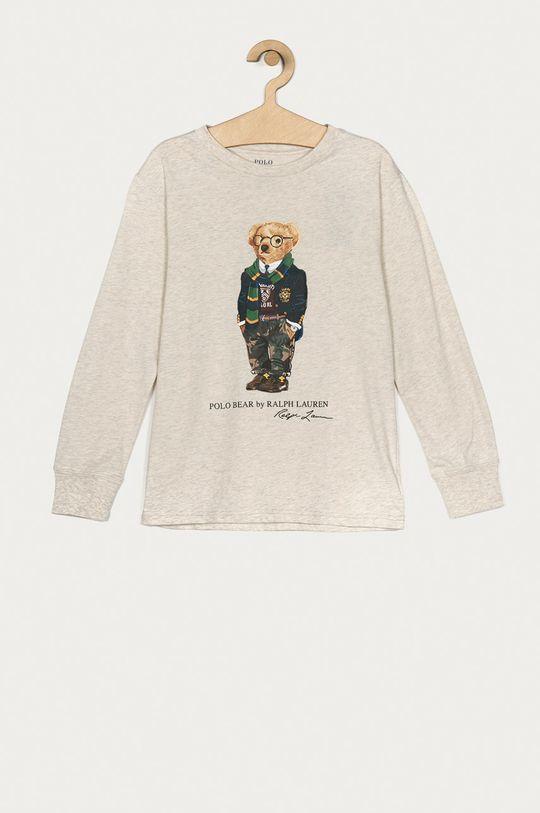 bej Polo Ralph Lauren - Longsleeve copii 134-176 cm De băieți