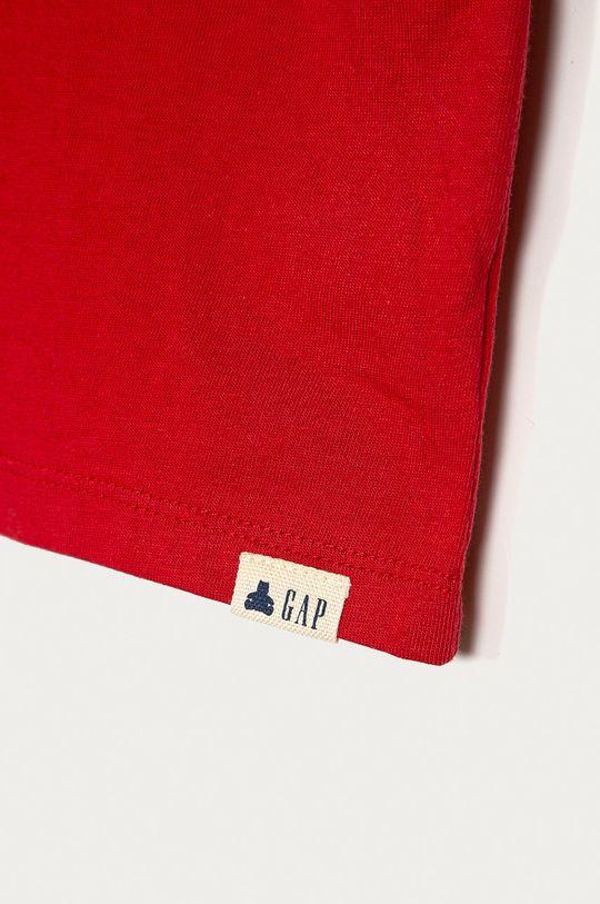 GAP - Longsleeve copii 74-110 cm rosu