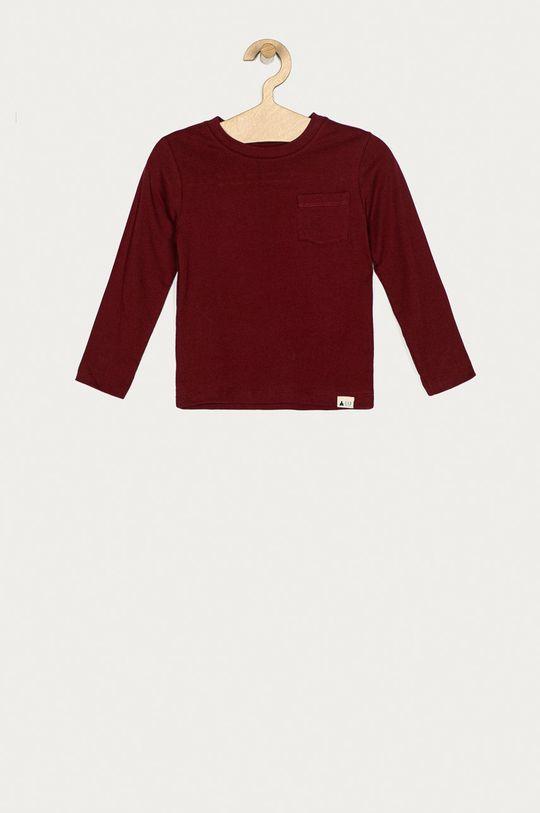 gaštanová GAP - Detské tričko s dlhým rukávom 74-110 cm Chlapčenský