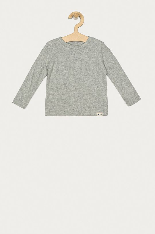 sivá GAP - Detské tričko s dlhým rukávom 74-110 cm Chlapčenský