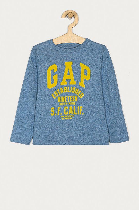 niebieski GAP - Longsleeve dziecięcy 74-110 cm Chłopięcy