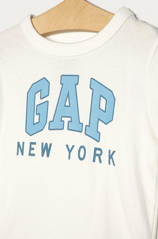 GAP - Detské tričko s dlhým rukávom 74-110 cm biela