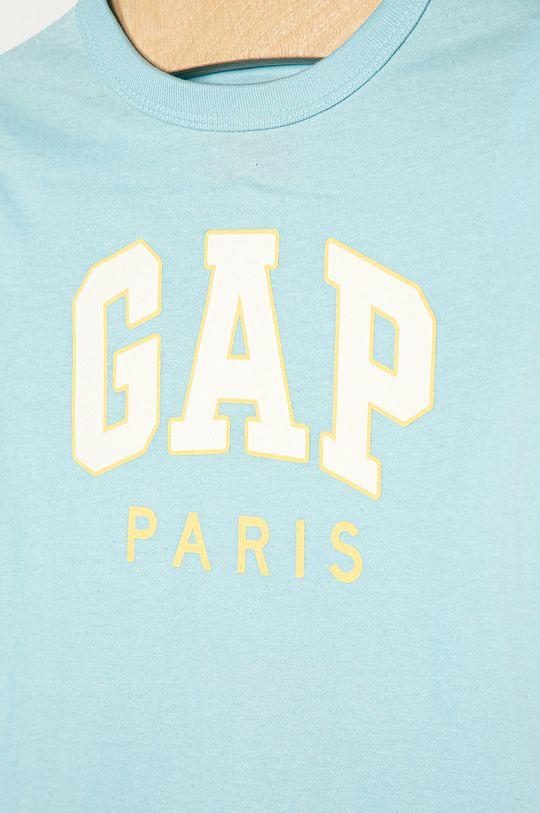GAP - Detské tričko s dlhým rukávom 74-110 cm svetlomodrá