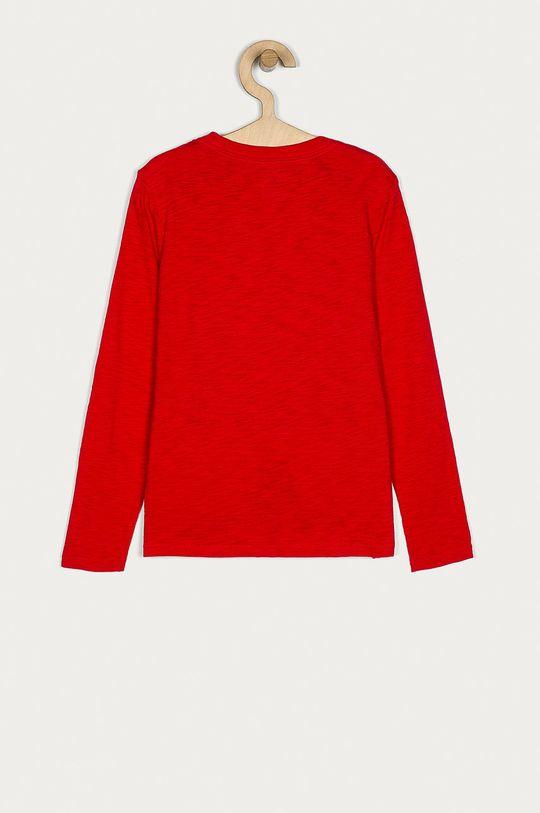GAP - Longsleeve dziecięcy 104-176 cm czerwony