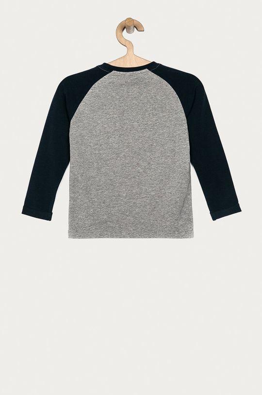 Name it - Detské tričko s dlhým rukávom 92-128 cm sivá