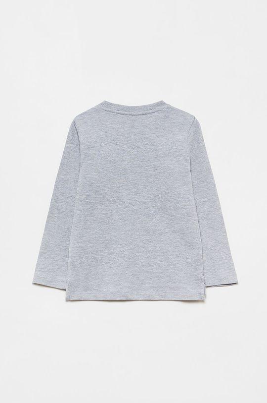 OVS - Dětské tričko s dlouhým rukávem purpurová