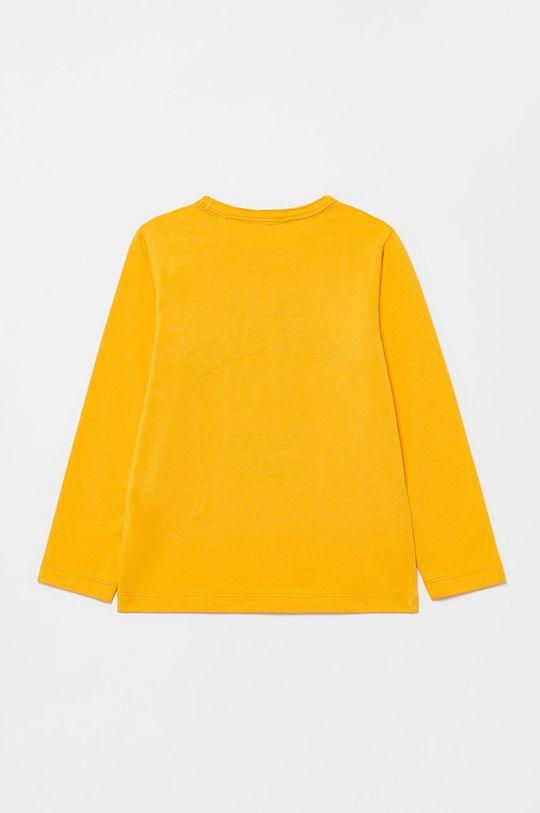 OVS - Dětské tričko s dlouhým rukávem oranžová