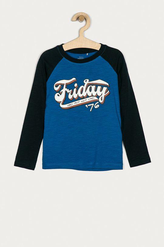 modrá Name it - Dětské tričko s dlouhým rukávem 116-152 cm Chlapecký