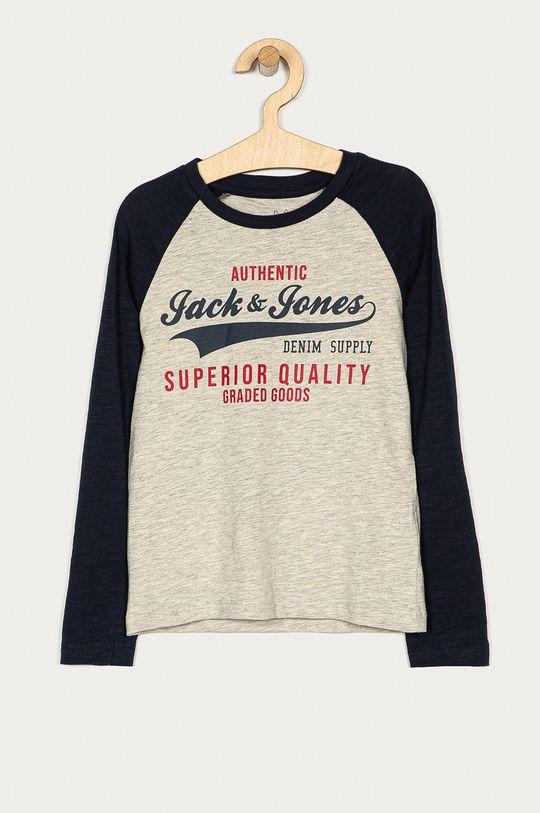 сірий Jack & Jones - Дитячий лонгслів 128-176 cm Для хлопчиків