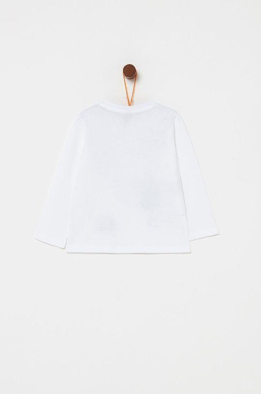 OVS - Longsleeve dziecięcy 80-98 cm biały