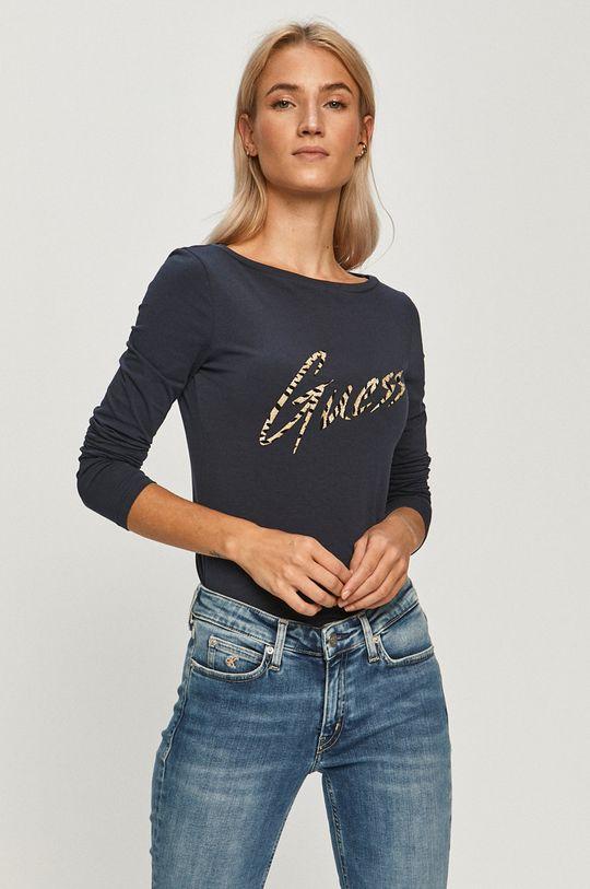 bleumarin Guess Jeans - Longsleeve De femei