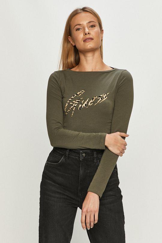 verde inchis Guess Jeans - Longsleeve De femei