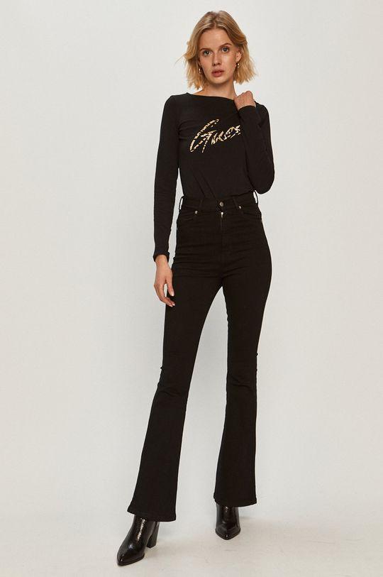 Guess Jeans - Longsleeve negru