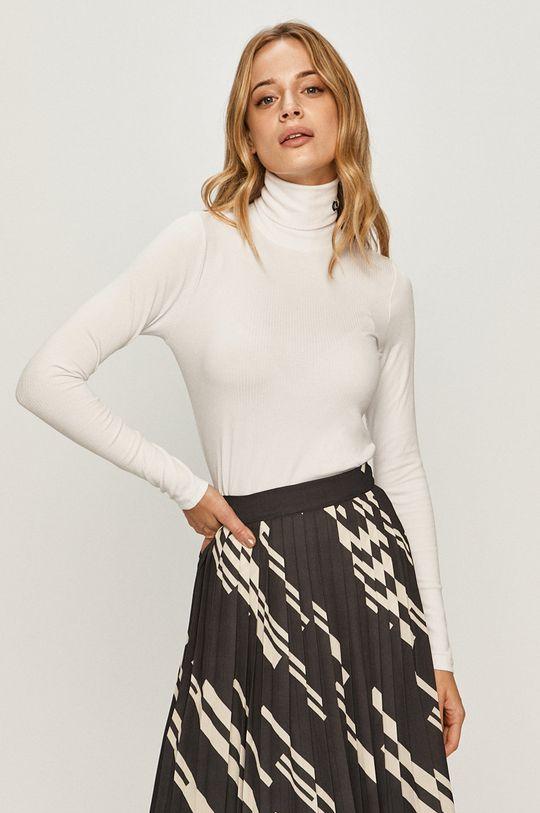 biela Calvin Klein Jeans - Sveter Dámsky