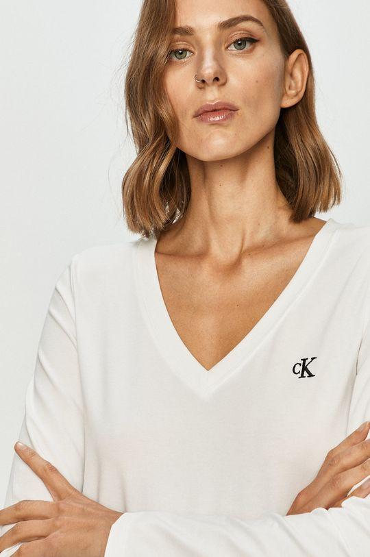 alb Calvin Klein Jeans - Longsleeve De femei
