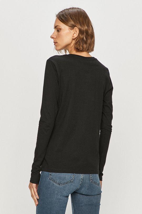 Tommy Jeans - Tričko s dlouhým rukávem  100% Bavlna