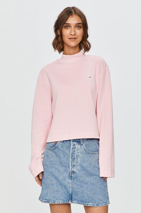 roz Tommy Jeans - Bluza De femei