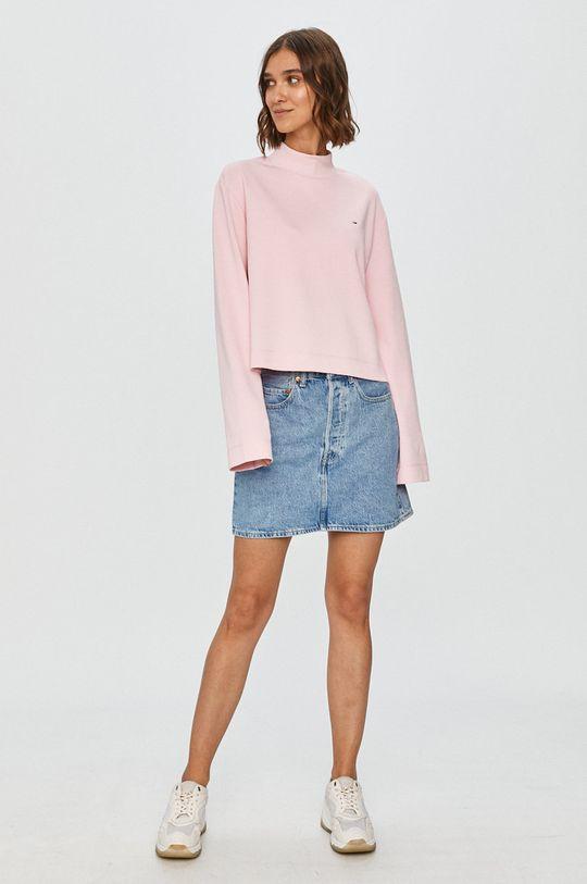 Tommy Jeans - Bluza roz