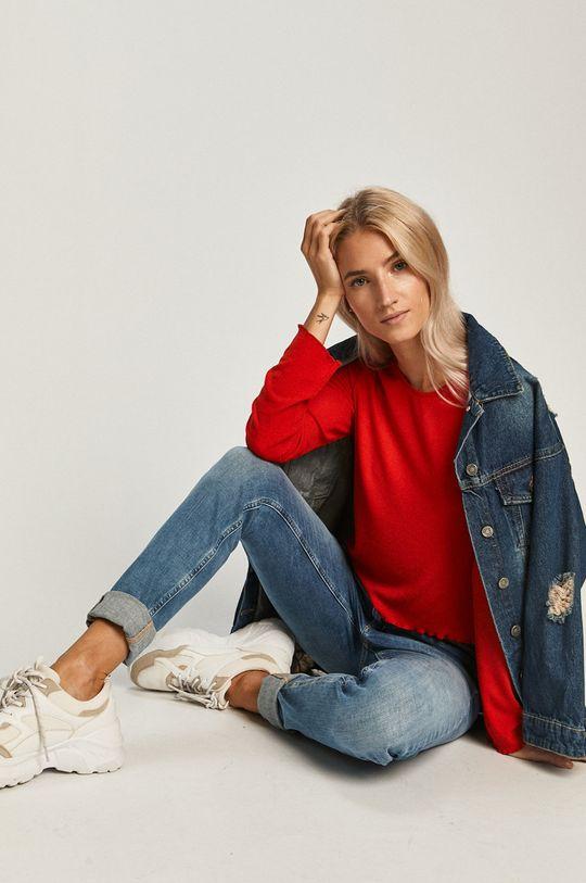 rosu Tommy Jeans - Longsleeve De femei