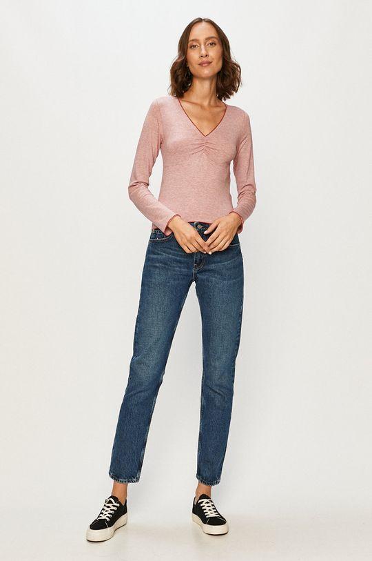 Pepe Jeans - Tričko s dlhým rukávom Collin červená
