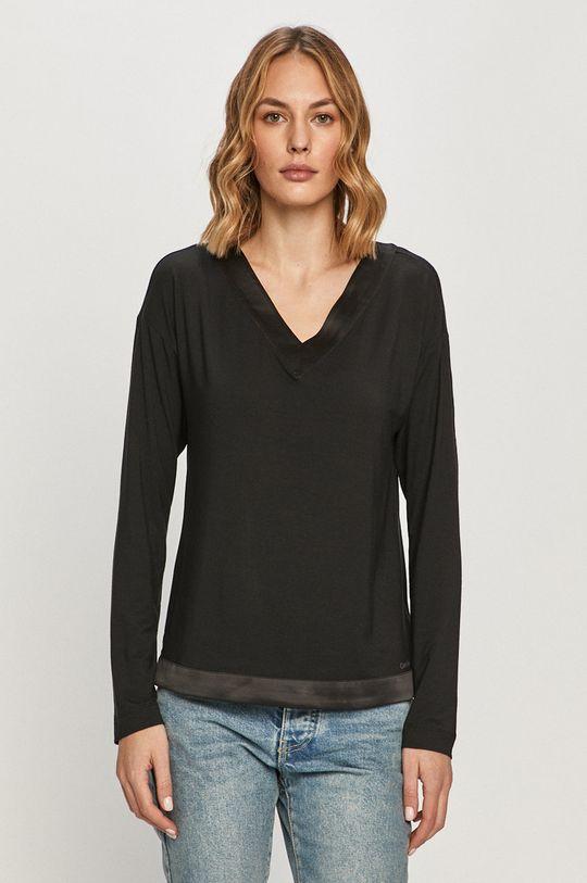 čierna Calvin Klein Underwear - Tričko s dlhým rukávom Dámsky