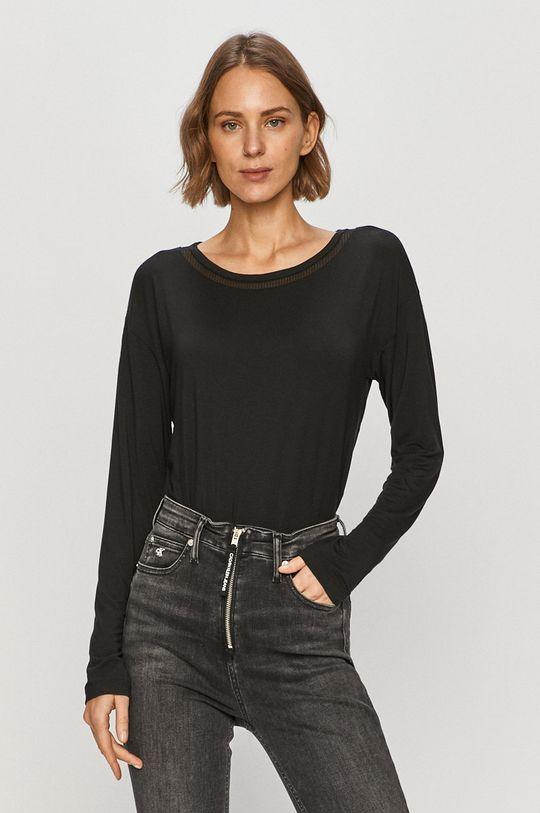 czarny Calvin Klein Underwear - Longsleeve Damski