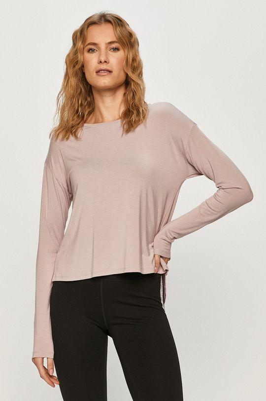 pastelově růžová Calvin Klein Underwear - Tričko s dlouhým rukávem Dámský