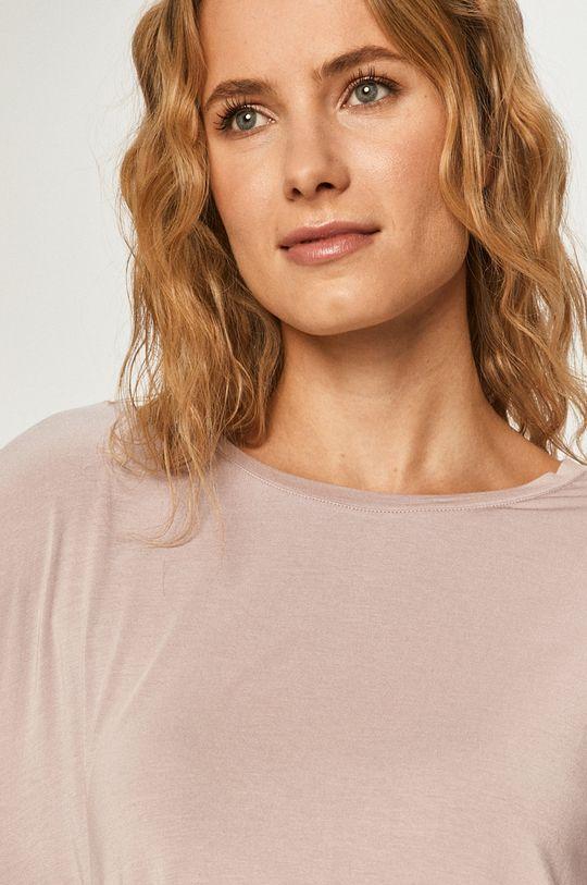 Calvin Klein Underwear - Tričko s dlouhým rukávem pastelově růžová