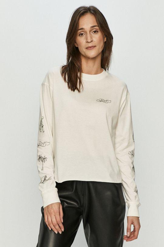 bílá Roxy - Tričko s dlouhým rukávem Dámský