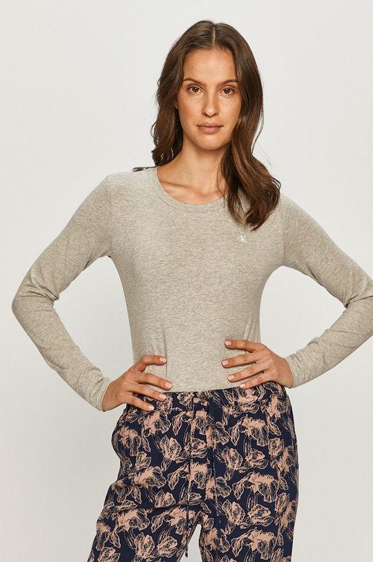 jasny szary Calvin Klein Underwear - Longsleeve CK One Damski