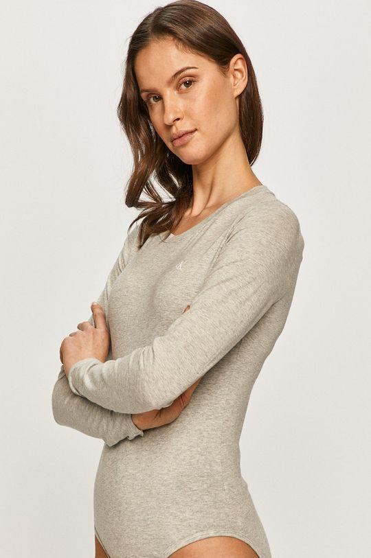 jasny szary Calvin Klein Underwear - Longsleeve CK One