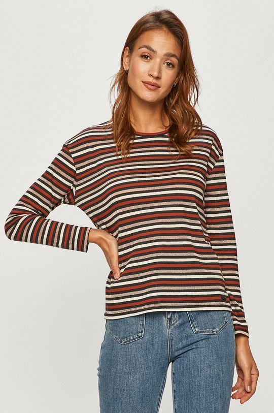 vícebarevná Pepe Jeans - Tričko s dlouhým rukávem Lexi Dámský